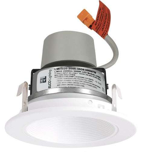 ELCO Lighting E414R Cedar System Contemporary 4 inch LED Module & Driver with Baffle Trim- BuyRite Electric