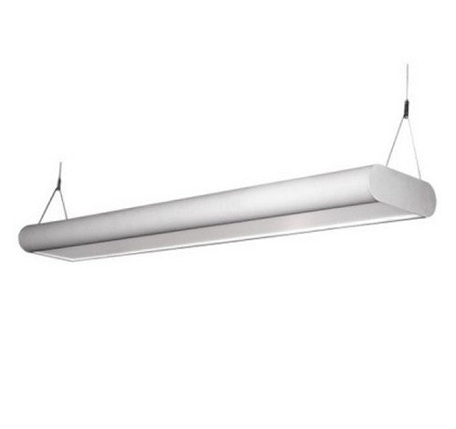 Utopia Lighting CURVA-R4 LED Architectural Direct/Indirect Suspended Light, 4 Foot- BuyRite Electric
