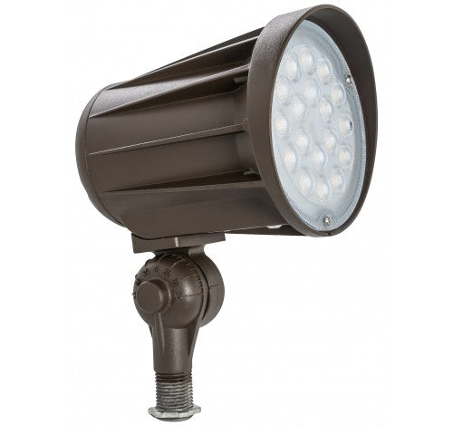 "Westgate 42W 1/2"" Led Bullet Flood Lights Knuckle 60° 120~277V - Bronze - BuyRite Electric"