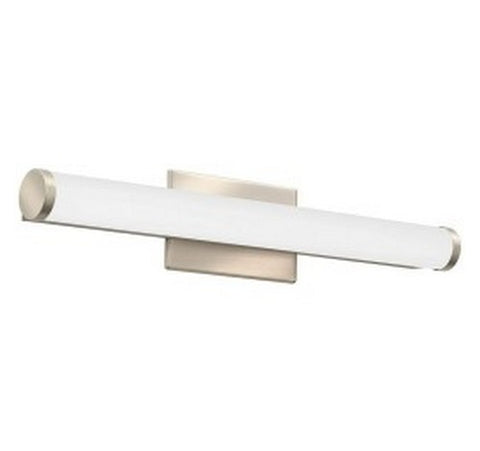 "Lithonia Lighting Brushed Nickel FMVCCL Contemporary Cylinder 24"" LED Vanity 120V- BuyRite Electric"