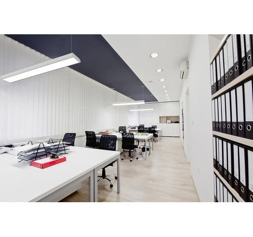 Utopia Lighting CURVA-R8 LED Architectural Direct/Indirect Suspended Light- BuyRite Electric