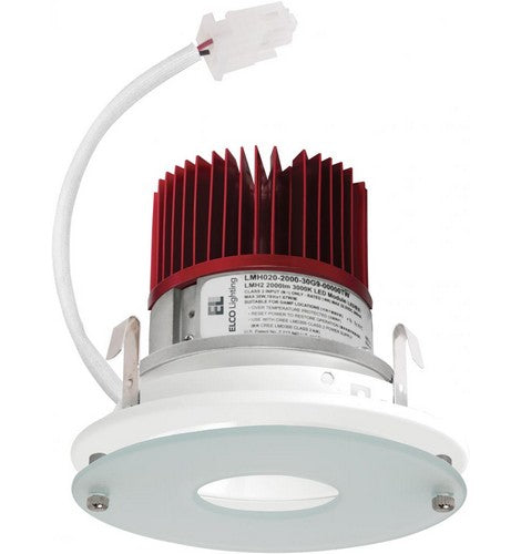 ELCO Lighting E412C 4 Inch LED Light Engine with Drop Glass Reflector Trim- BuyRite Electric