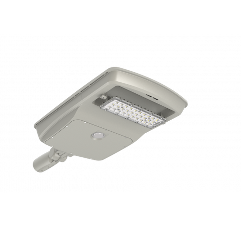 Westgate 36W Wireless LED Solar Roadway/Flood Light - Light Grey - BuyRite Electric