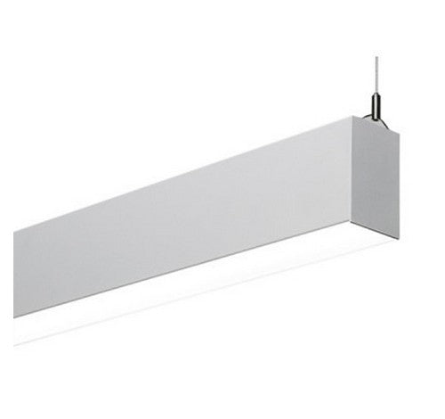 Utopia Lighting CUBE2-P Cube2 2-Foot Linear LED Architectural Suspended Pendant Mount (Downlight Only)- BuyRite Electric