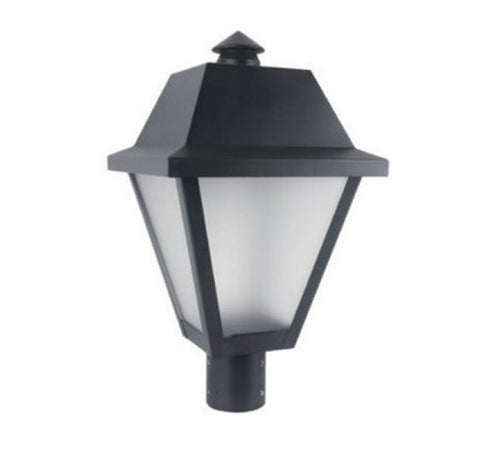 Utopia Lighting LPT-9 Frosted LED Post Top Light, 25W or 35W- BuyRite Electric