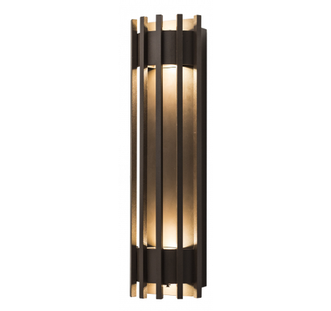 Westgate 10W LED Pen Wall Sconces 100~277V AC - Dark Bronze - BuyRite Electric
