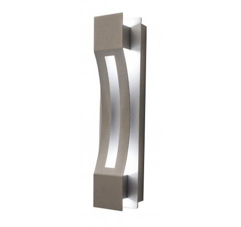 Westgate 20W LED Curve Wall Sconces 100~277V AC - Silver - BuyRite Electric