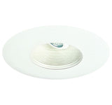 ELCO Lighting EL5593W 5 Inch Adjustable Baffle with Oversized Trim Ring White Finish- BuyRite Electric