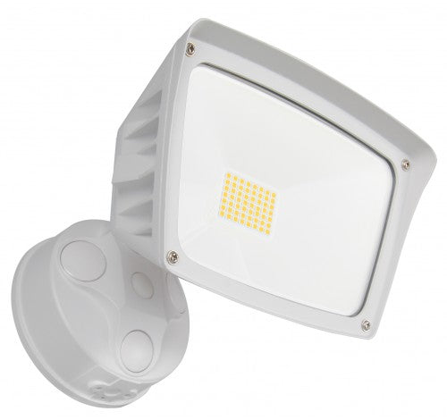 Westgate 28W LED Security Lights With Optional Motion Sensor Or Photocell 120V AC White - BuyRite Electric