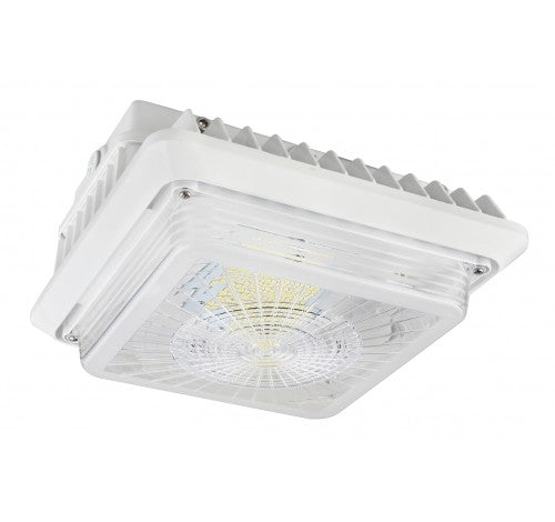 Westgate 55W LED Garage / Canopy Lights 120~277V - Light Grey - BuyRite Electric