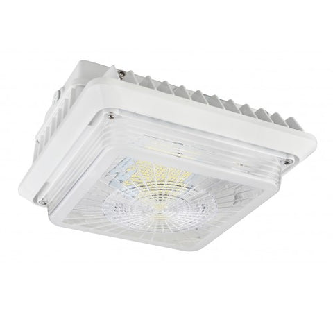 Westgate 75W LED Garage / Canopy Lights 120~277V - Light Grey - BuyRite Electric