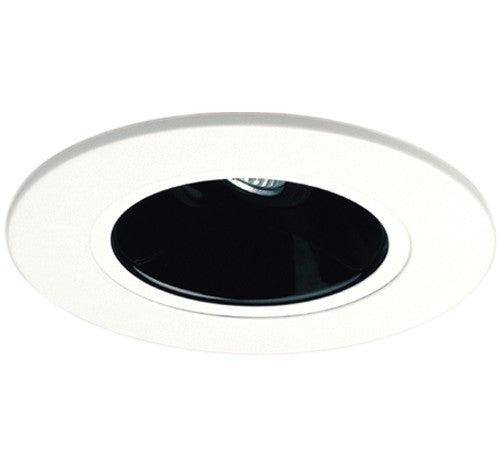 ELCO Lighting EL5421B 5 Inch Adjustable Reflector Trim Black with White Ring Finish- BuyRite Electric