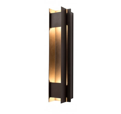 Westgate 20W Dark Bronze LED Passage Wall Sconces 100~277V AC