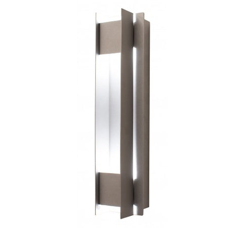 Westgate 10W Silver LED Passage Wall Sconces 100~277V AC