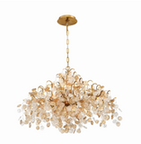 Eurofase Lighting 29060-016 Campobasso 11 Light 33 inch Antique Chandelier Ceiling Light Gold Finish