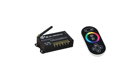 NORA Lighting NARGB-860/61 RGB 2.4 Full Color RF (Radio Frequency) Controller & Hand Held Remote