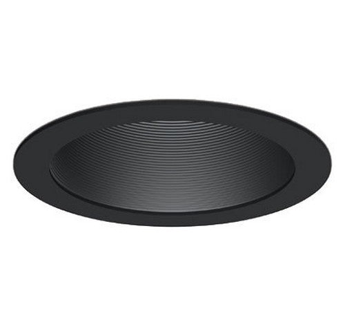"DMF Lighting DRD2TRD6B 6"" Round Ribbed Deep Baffle Twist and Lock Trim - BuyRite Electric"