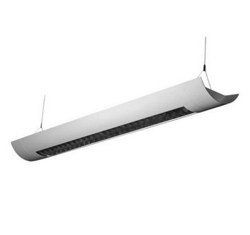 Utopia Lighting SIOL-R12-180L 12-Foot LED Architectural Linear Suspended-Louver- BuyRite Electric