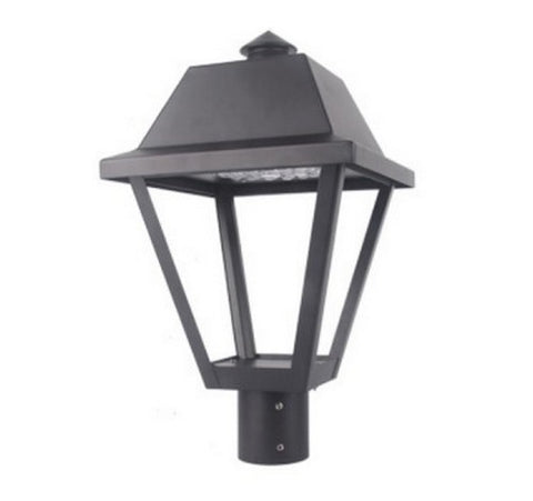 Utopia Lighting LPT-9 LED Post Top Light, 25W or 35W- BuyRite Electric