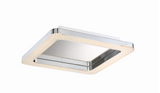 Eurofase Lighting 30063-013 Zatina LED 14 inch Flush Mount Ceiling Light Small Chrome Finish