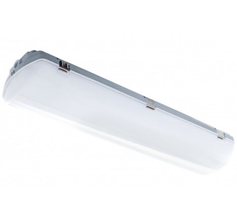Westgate 25W 2ft  LED Small Traditional Linear Vapor Light with Lens 120~277V AC