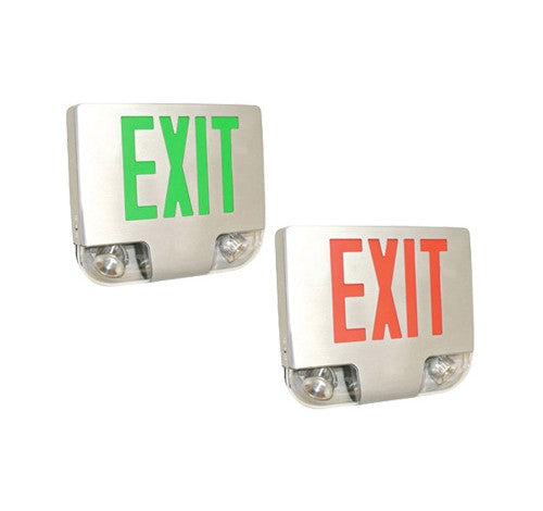 Utopia Lighting CKXTE Die Cast Aluminum LED Exit & Emergency Light Combo- BuyRite Electric