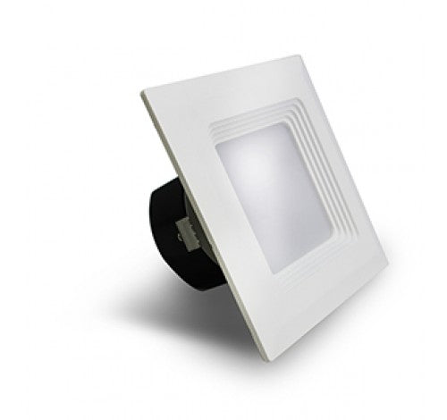 "Westgate 9W 4"" LED Square Baffle Downlight - BuyRite Electric"