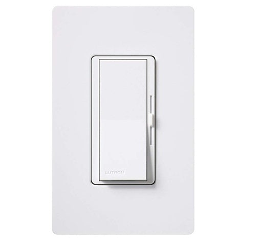 Lutron Diva White LED Dimmer with Built-in Relay - BuyRite Electric