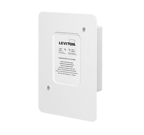 Leviton 51110-SRG Type 2 Residential Whole House Surge, Outdoor NEMA 4X Rated 120 - 240V - BuyRite Electric
