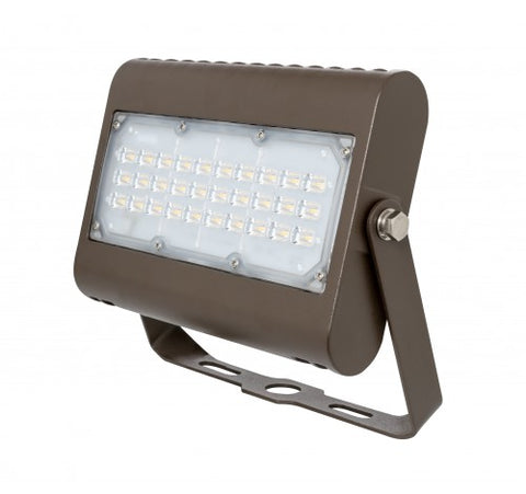 Westgate 50W Large Dark Bronze Led Flood Lights With Trunnion LF3 Series 120~277V AC - BuyRite Electric