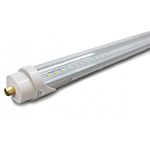 Westgate 18W 8FT Clear Glass Led Tube Lamps 120-277V AC - BuyRite Electric
