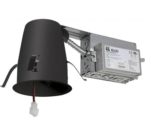 ELCO Lighting E4LRC 4 Inch Cedar System Non-IC Remodel Housing w/Driver- BuyRite Electric