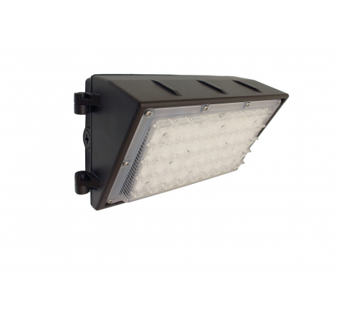 Westgate 50W Led Wall Pack With Optic Lens- Dark Bronze - BuyRite Electric