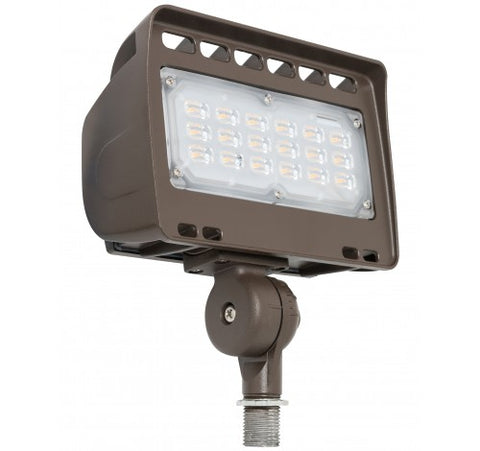 Westgate 30W Medium LED Flood Lights LF4 Series 120~277V - Dark Bronze - BuyRite Electric