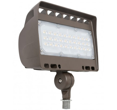 Westgate 50W Medium LED Flood Lights LF4 Series 120~277V - Dark Bronze - BuyRite Electric