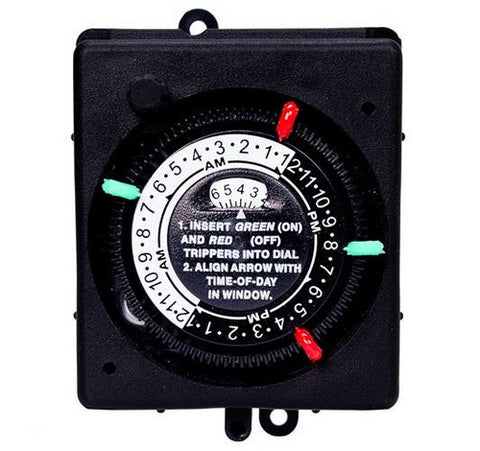 Intermatic PB913N84 24-hour Panel Mount Timer With Manual Override - BuyRite Electric