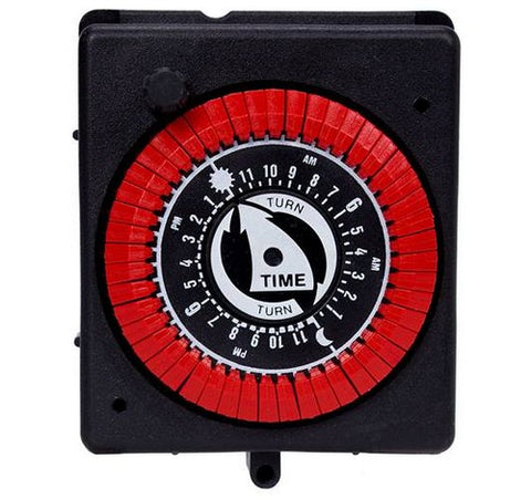 Intermatic PB914N66 24-Hour Panel Mount Timer With Manual Override - BuyRite Electric