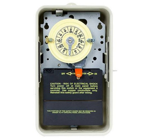 Intermatic T104R3 24-Hour Mechanical Time Switch In Enclosure - BuyRite Electric