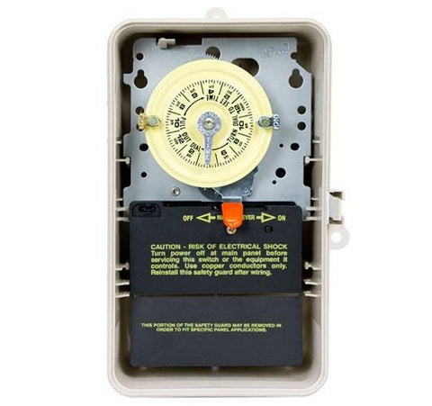 Intermatic T106P3 24-Hour Mechanical Time Switch In Enclosure - BuyRite Electric