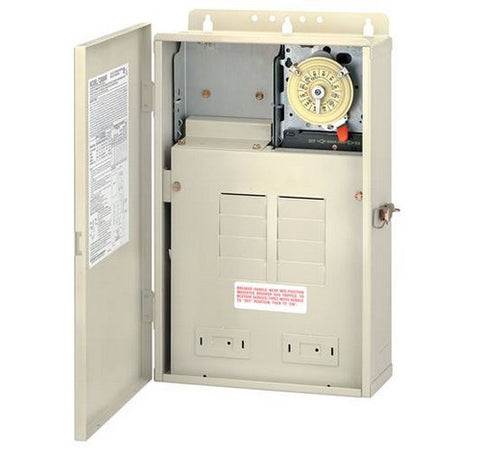Intermatic T30004R 100 A Load Center With T104M Mechanism - BuyRite Electric