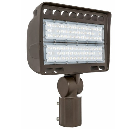 Westgate 150W Medium LED Flood Lights LF4 Series 120~277V - Dark Bronze - BuyRite Electric