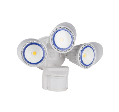 Westgate 50W Led Security Lights With PIR Sensor 120V AC - White  - BuyRite Electric