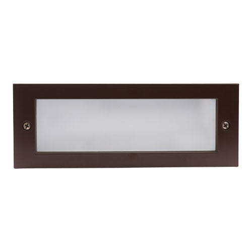 ELCO Lighting ELST84BZ High Tech LED Brick Light with Open Faceplate 12W 3000K 1000 lm 120V Bronze Finish | BuyRite Electric