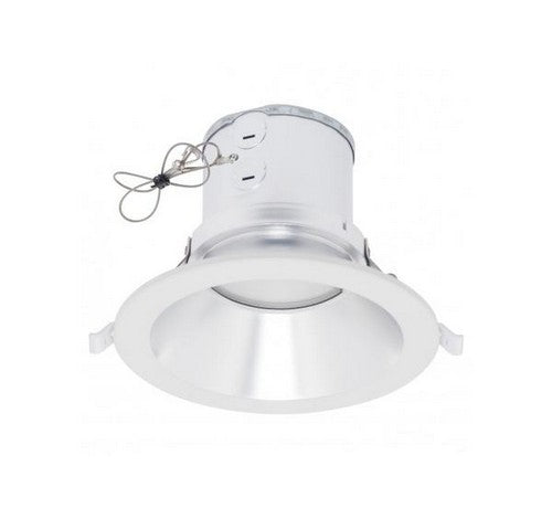 "Westgate 15W Led Commercial Recessed Light 8"" 120~277V - White Trim - BuyRite Electric"