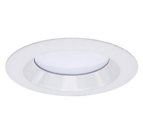 "DMF Lighting DRD2TR4S 4"" Round Smooth Reflector Twist and Lock Lighting Trim with White Finish - BuyRite Electric"