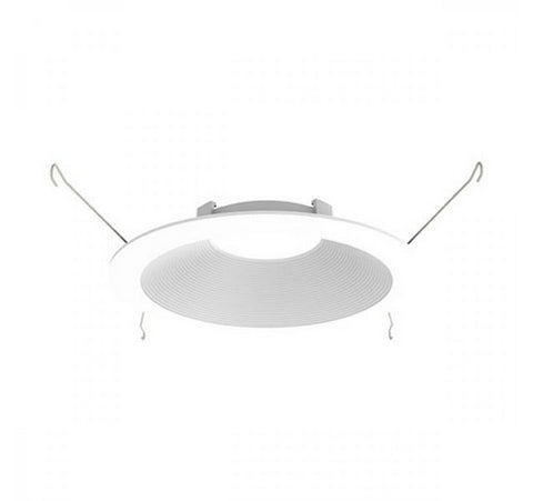 "DMF Lighting DRD2TR6BWH 6"" LED Round Baffle Trim - BuyRite Electric"