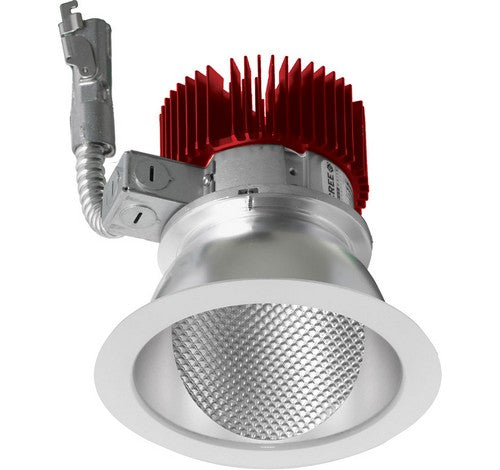 ELCO Lighting E411L1240C 4 Inch LED Light Engine with Wall Wash Trim Chrome Finish 4000K 1250 lm
