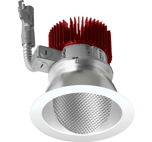 ELCO Lighting E411L1235B 4 Inch LED Light Engine with Wall Wash Trim Black Finish 3500K 1250 lm