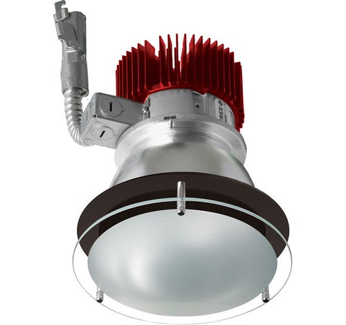 ELCO Lighting E412L2030C 4 Inch LED Light Engine with Drop Glass Trim Chrome Finish 3000K 2000 lm