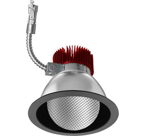 ELCO Lighting E611L3027B 6 Inch LED Light Engine with Wall Wash Trim Black Finish 2700K 3000 Lumens